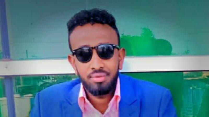 Gadhle company owner khadar aden mohamud recently arrived in Mogadishu