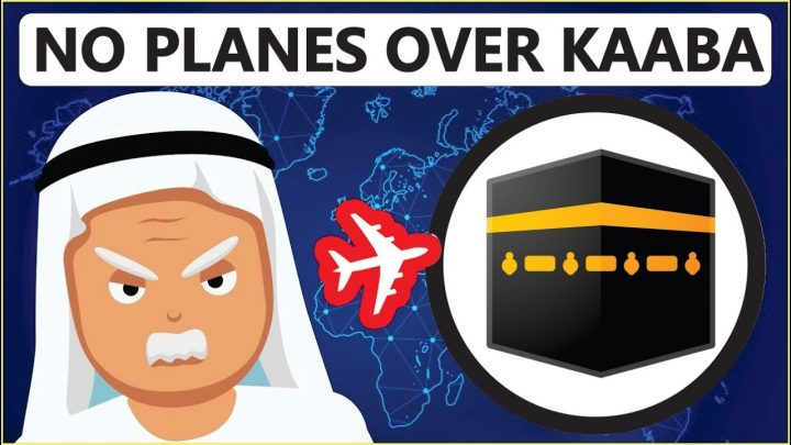 Subhanallah: why don't planes fly over the kaaba?